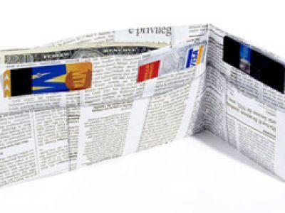 Oryginalne portfele z tajemniczego Tyvek!