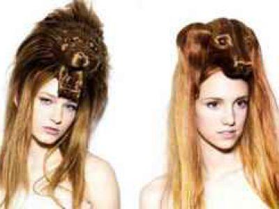 Zwierzęce motywy na perukach
