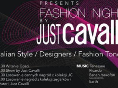 "Fashion night by ""Just Cavalli"""