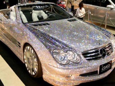 Diamentowy Mercedes SL
