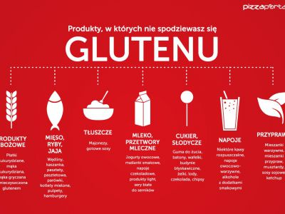 Menu bez glutenu nie tylko w domu