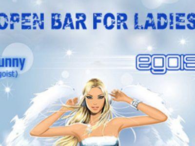 Dzień Kobiet w Egoiście - Open Bar dla wszystkich Pań