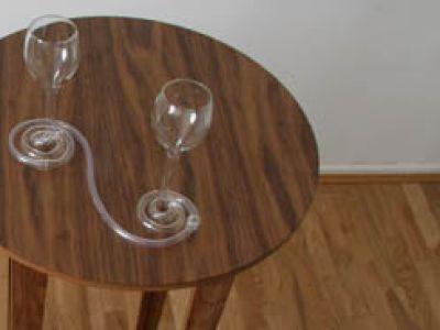 Oryginalne kieliszki do wina