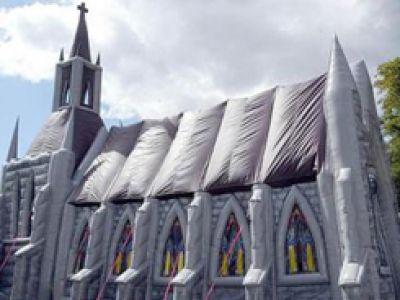 Gumowy, przenośny Kościół