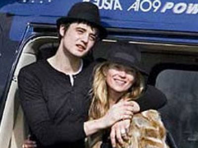 Kate Moss i Pete Doherty na pikniku