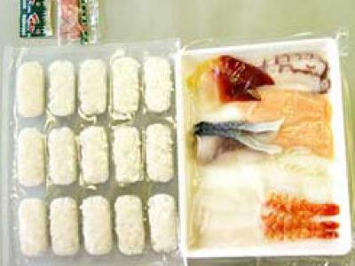 Miejski styl życia. Mrożonki sushi już w sklepach!