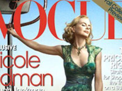 Nicole Kidman w westernowej sesji dla Vogue