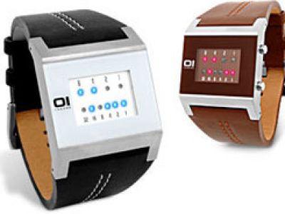 Zegarki i gadżety. Zegarek binarny kwadratowy