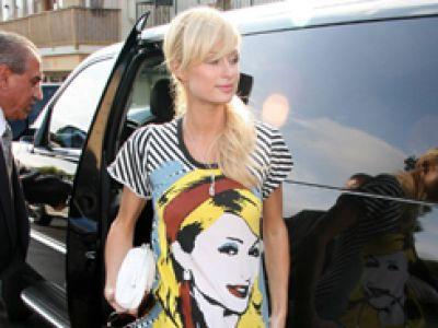 Paris Hilton pogrążona w samouwielbieniu