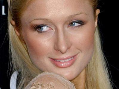 Paris Hilton - jej powieka nadaje się do retuszu.