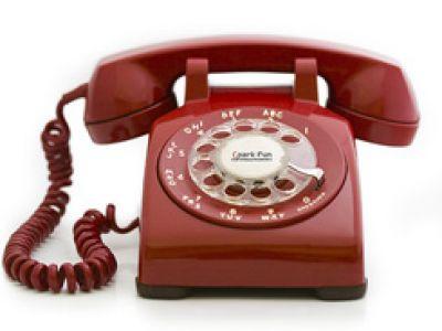 Port-O-Rotary - telefon komórkowy w stylu retro