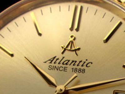 Atlantic wprowadza na rynek złoty zegarek