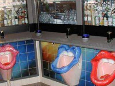 Wystrój wnętrz. Toilet - Bar w weneckim wydaniu