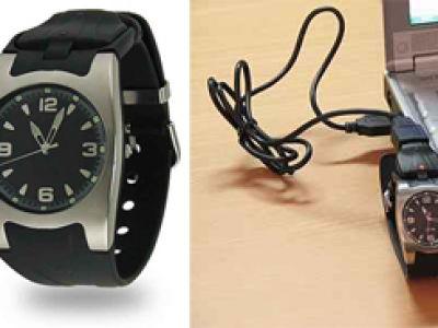 Usb Watch. Zegarek na misje specjalne.