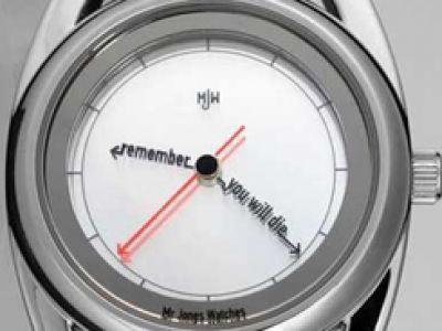 Ten zegarek wieszczy śmierć