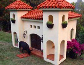 Akcesoria dla psów. Domy dla psów od $15,000