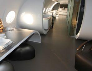 Samolot z Zimnej Wojny- luksusowy apartament