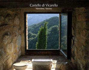 Castello di Vicarello- miejsce sched miłosnych