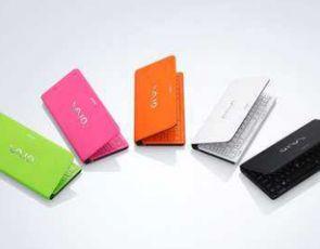 Neonowe Sony Vaio P