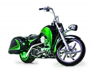Hybrydowy motocykl Schneider Electric i Orange County Choppers
