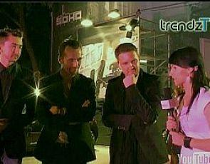 Projektanci Mariusz Przybylski, Marcin Paprocki i Mariusz Brzozowski  dla Trendz.TV