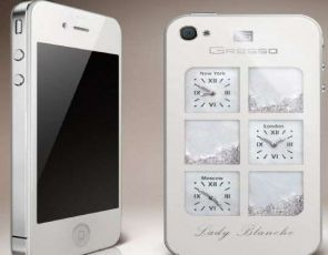 iPhone w diamentach