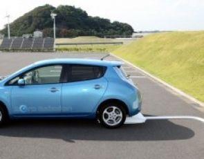 Nissan prezentuje bezprzewodowy system ładowania samochodów elektrycznych