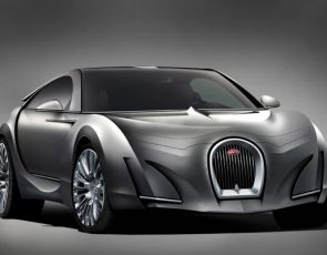 Nowe Bugatti Super-sedan