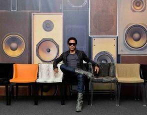 Lenny Kravitz projektuje fotele