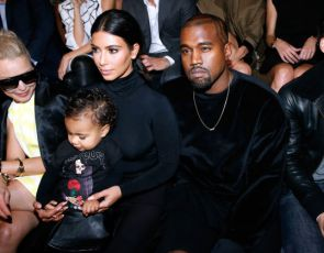 North West na Paris Fashion Week