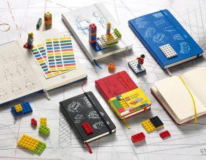 Współpraca Moleskine z LEGO