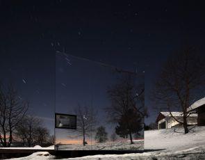 Architektura trendy 2015: Niewidoczny dom