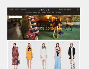 Nowa odsłona Gucci.com