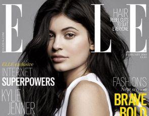 Kylie Jenner na okładce Elle UK