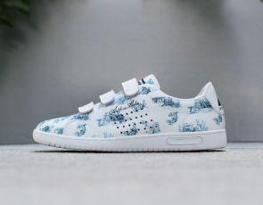 Sneakersy w romantycznym stylu