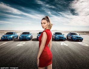 Gigi Hadid gwiazdą BMW