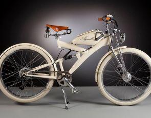 Designerski rower elektryczny