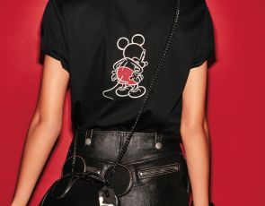 Moda Coach z Mickey Mouse