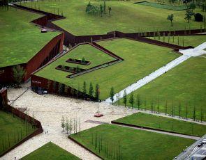Trendy architektura: pęknięty krajobraz