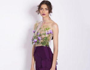 Trendy: Transparentna bluzka z motywem kwiatów