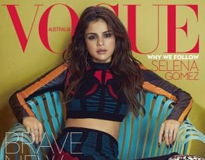 Selena Gomez w Louis Vuitton