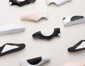 Sneakersy w stylu Bauhaus