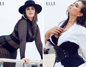 Ashley Graham na okładce Elle