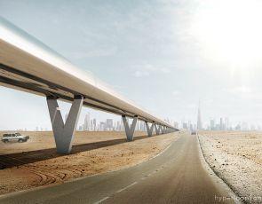 Hyperloop Dubaj - Abu Zabi