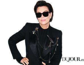 Kris Jenner na okładce DuJour