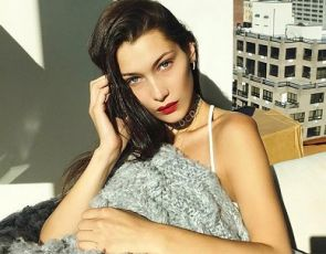 Gwiazdy: Bella Hadid i Chrome Hearts
