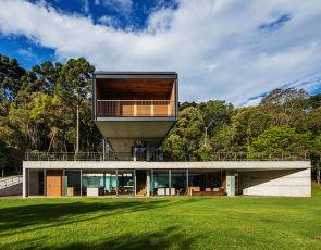 Architektura trendy: Modny dom w Brazylii