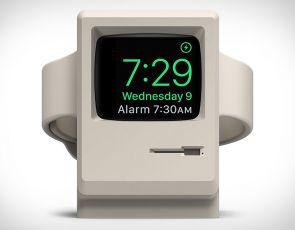Apple Watch klasycznym Macintoshem