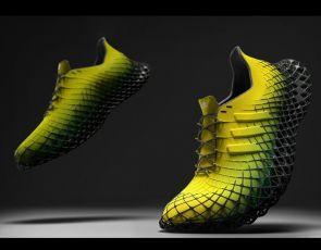 Trendy buty: podeszwa 3D w kratkę