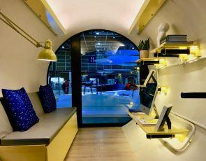 Domy przyszłości: Designerskie tuby
